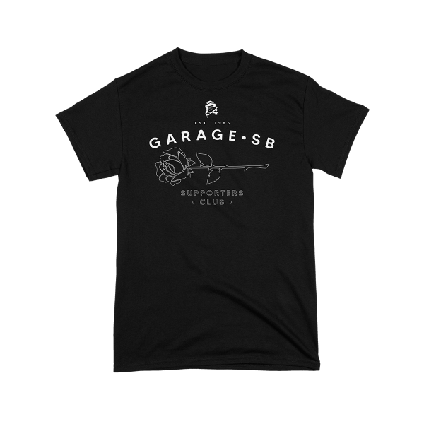 GARAGE - Supporters Club T-Shirt [black]