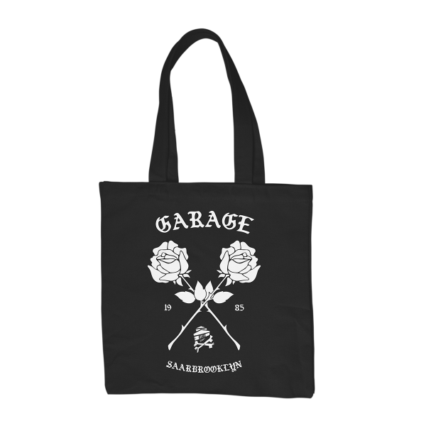 GARAGE - Saarbrooklyn Tote Bag [black]